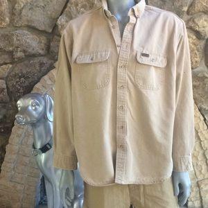Carhartt Button Down Long Sleeve Shirt XL Tall